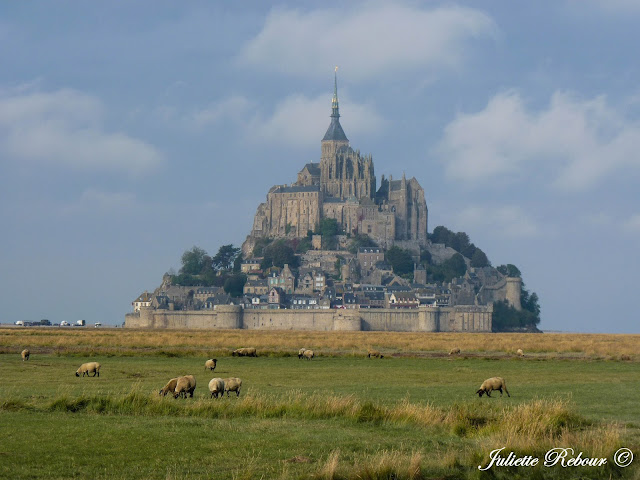 Mont-Saint-Michel en Normandie, France