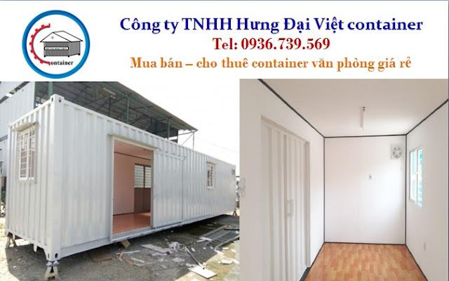 thuê container văn phòng hcm