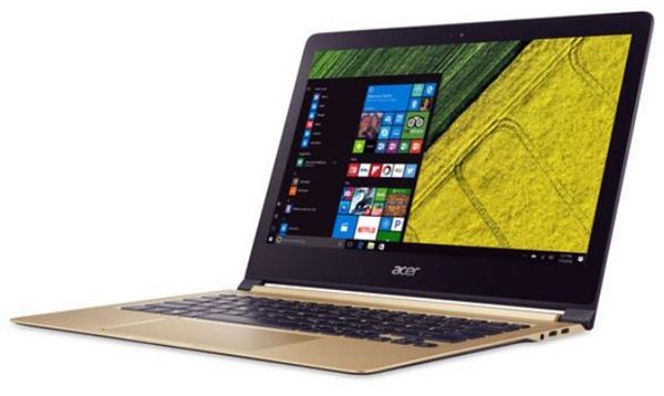 O notebook mais fino do mundo Acer Swift 7
