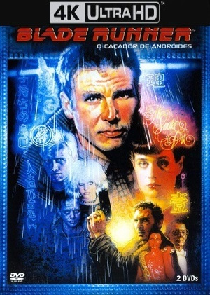 Blade Runner - O Caçador de Andróides 4K Ultra HD Filmes Torrent Download capa