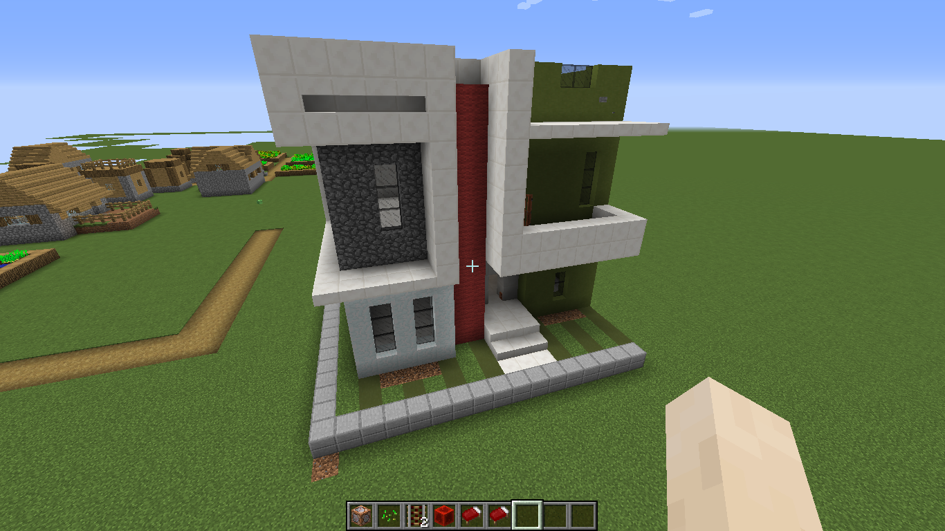 Minecraft Hebringer Rumah Modern Command Block 1 10