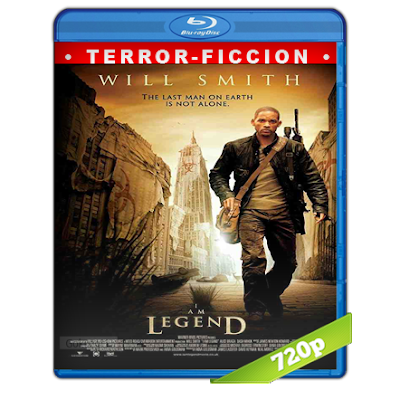 Soy Leyenda (2007) BRRip 720p Audio Trial Latino-Castellano-Ingles 5.1