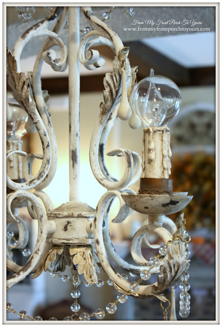 DIY French Chandelier- From My Front Porch To Yours