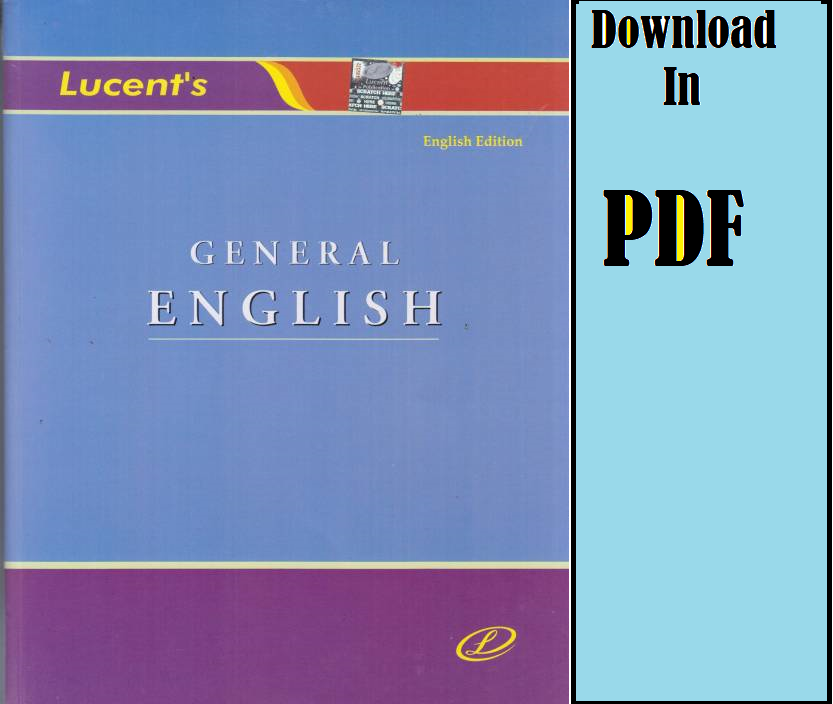 General English Competitive Exams Book