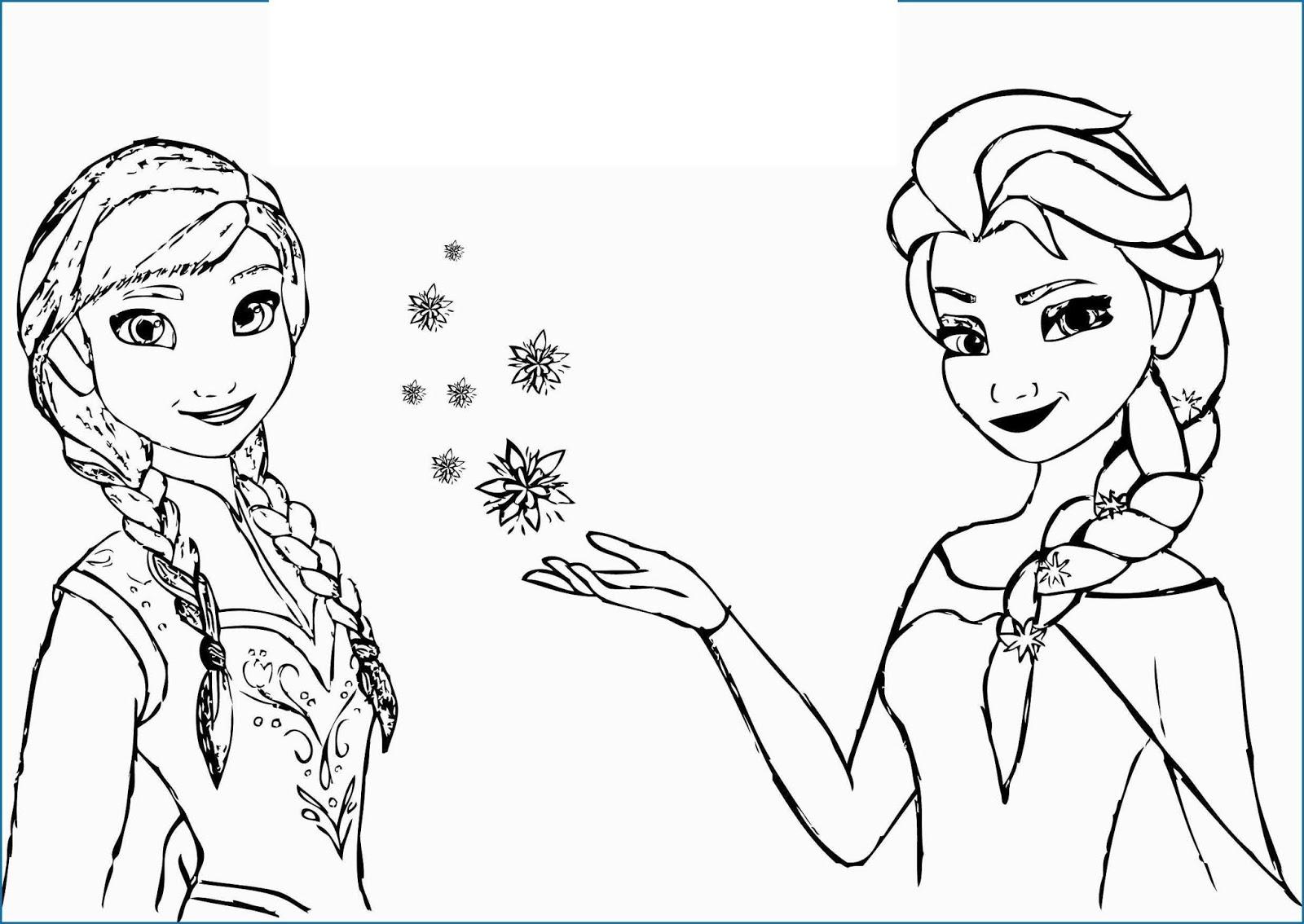 Yeni Cocuk Boyamalari En Guzel Elsa Boyamalari