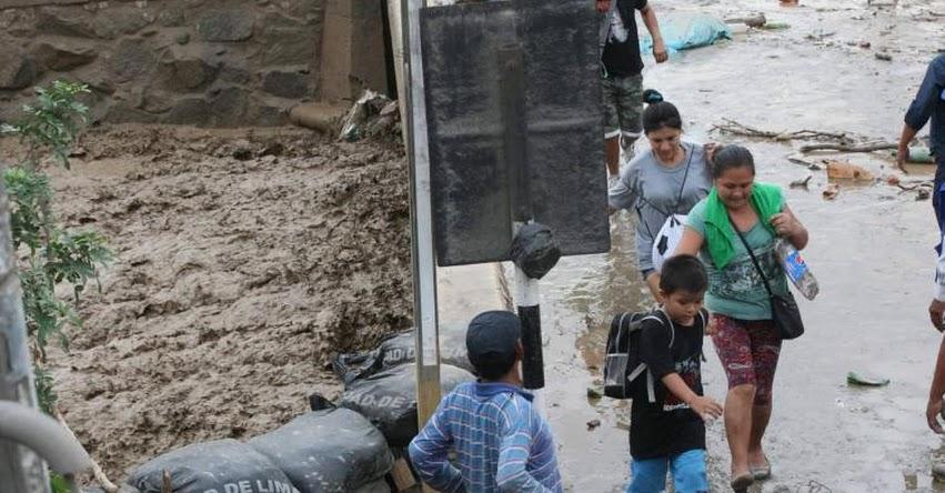 Afectados por lluvias tendrán 2 horas de tolerancia para ir a trabajar el jueves 16 y viernes 17, informó el Ministerio de Trabajo