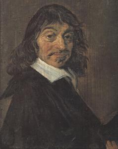 Retrato del filósofo René Descartes, padre del racionalismo, pintado por Frans Hals