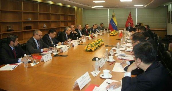 Venezuela y China evalúan desarrollo de proyectos energéticos