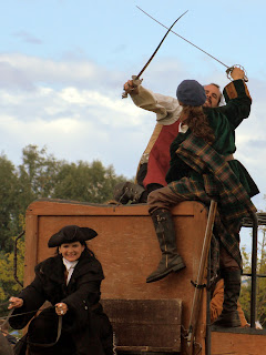 Outlander stunt riders