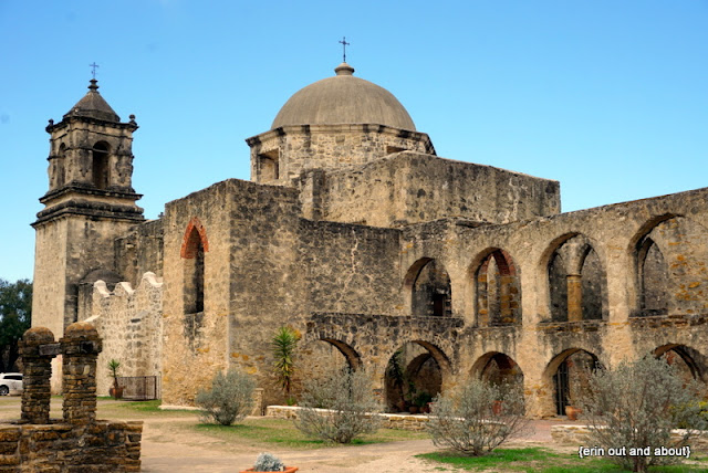 {Erin Out and About} The Spanish Missions of San Antonio