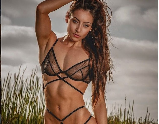 Hot girls Stephanie Buckland sexy strong body 6