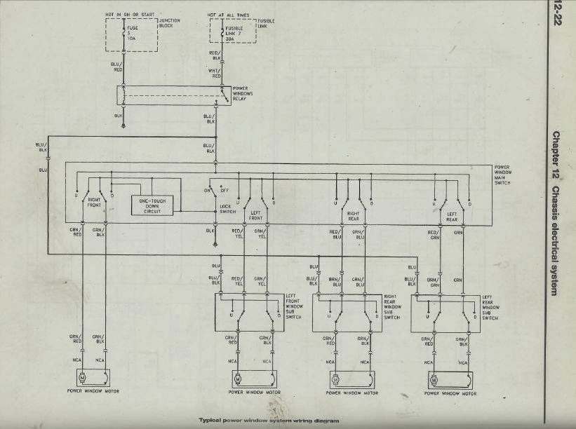 lancer power window switch wiring detailed wiring diagram