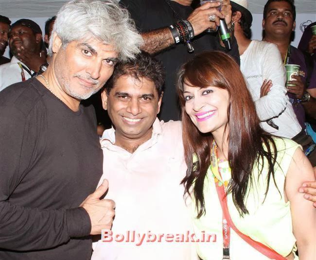 Harrinder Singh,  Mohammed Fasih and Candy Brar