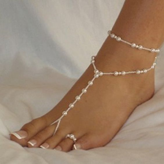 young you lace diamonte gifts dp stylish forever buy anklets black day collection mothers retro cool vintage anklet