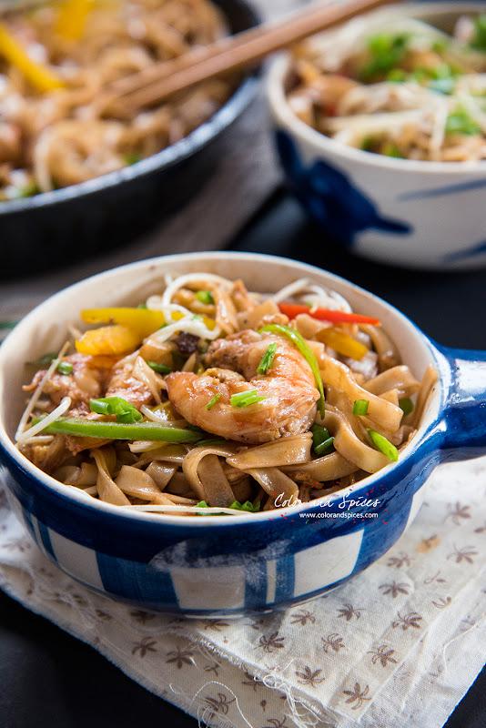 noodles with shrimp