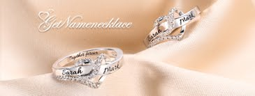 getnamenecklace customized rings