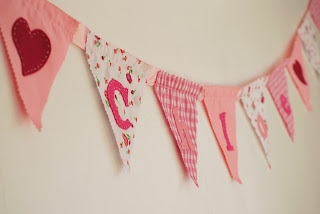 Cake and Jelly, personalised, bunting