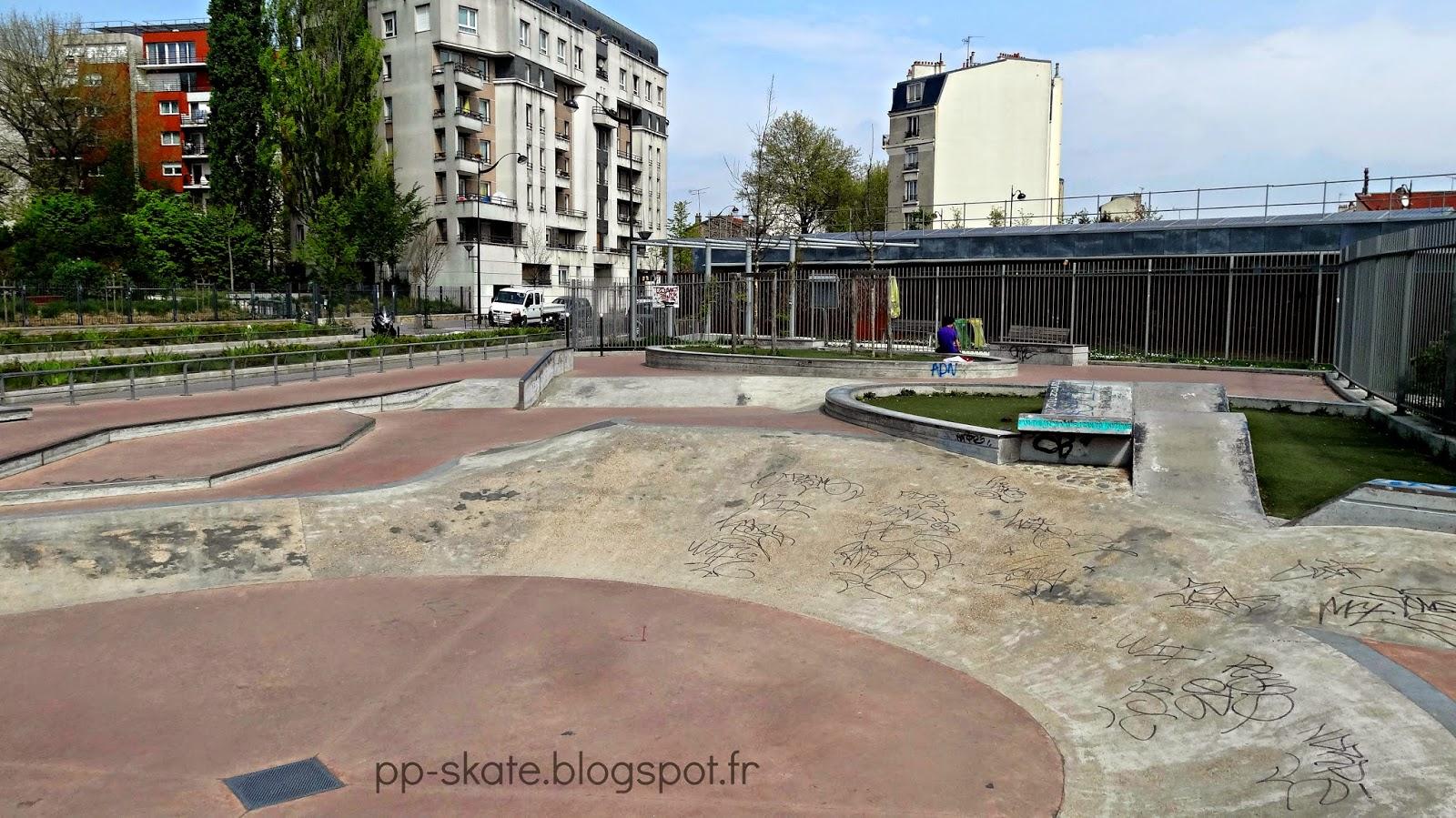 skate park paris