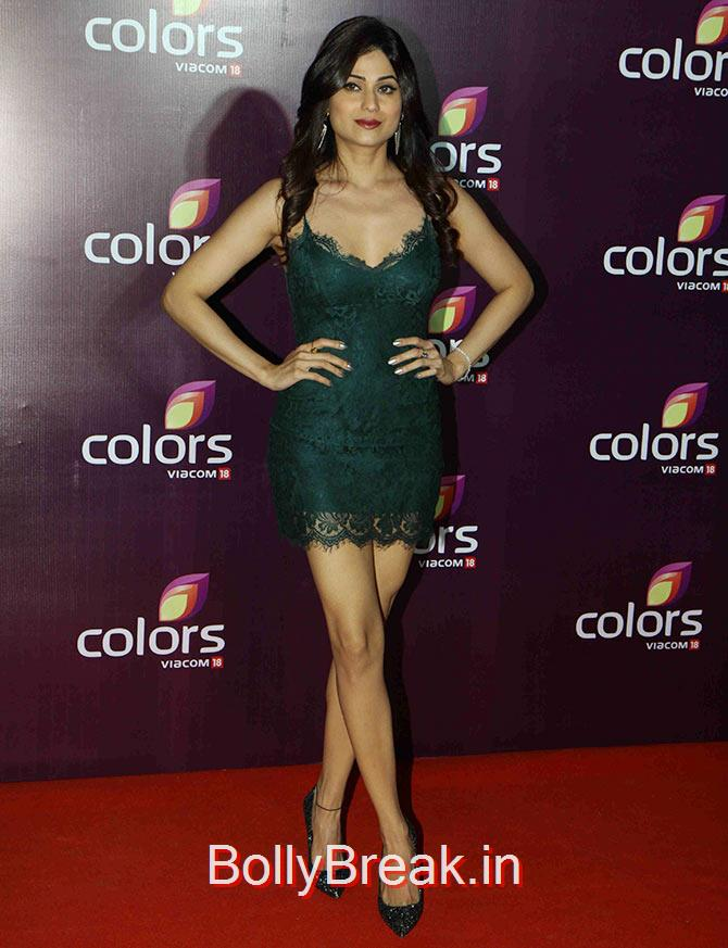 Shamita Shetty, Shamita, Guahar,Sophie Hot Pics at Colors leadership awards