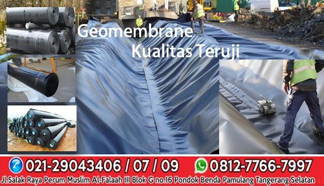 Jual Geomembrane HDPE Murah di Bukittinggi Sumatera Barat