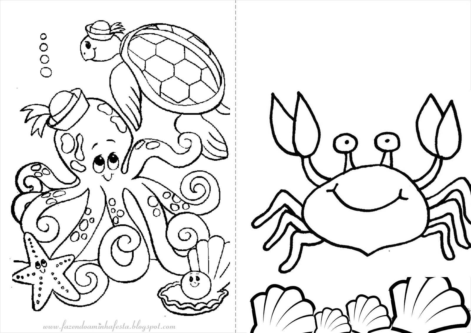 Desenho De Estrela Do Mar Para Colorir Mmod