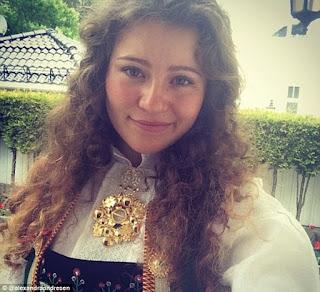 Youngest billionaire Alexandra Andresen