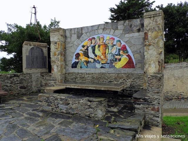 Mesa de los Mareantes, Luarca, Asturias