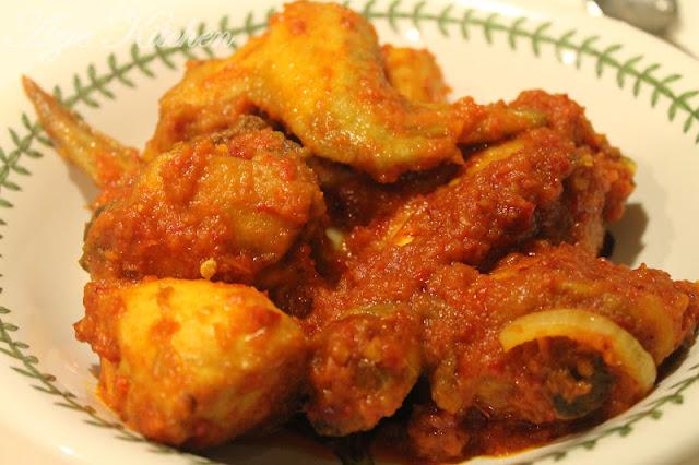 Ayam Masak Merah Yang Menggoda Selera