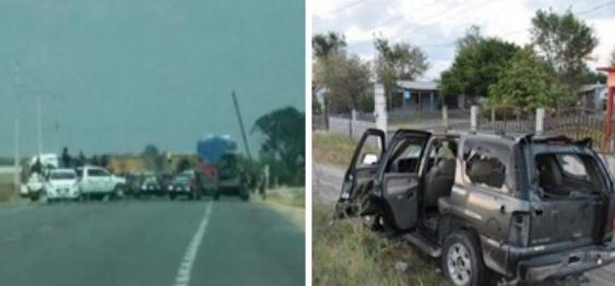 ARRECIAN BATALLAS del CDG por el control de la Frontera