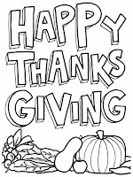 Happy Thanksgiving Free Printable Kids Coloring Pages