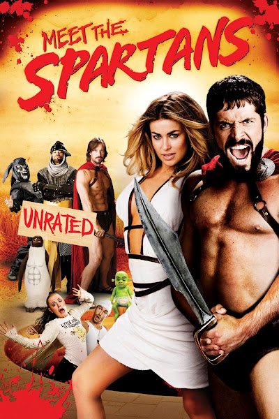 Meet the Spartans 2008 UnRated 720p English BRRip Full Movie Download extramovies.in Meet the Spartans 2008