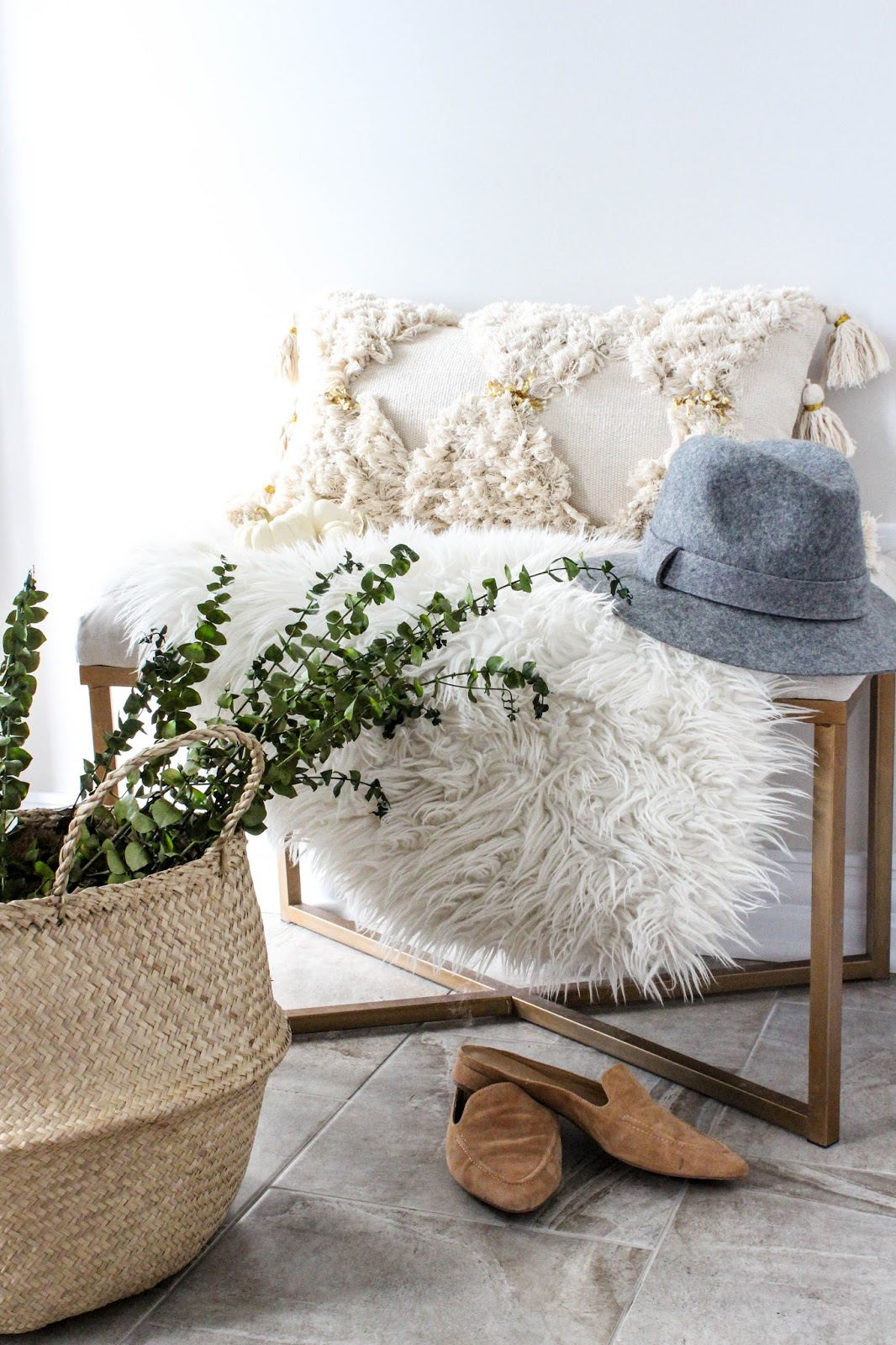 neutral and cozy fall home decor house of hire