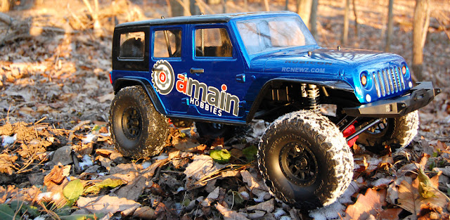 Building the Axial SCX10 II Scale RC Crawler Kit