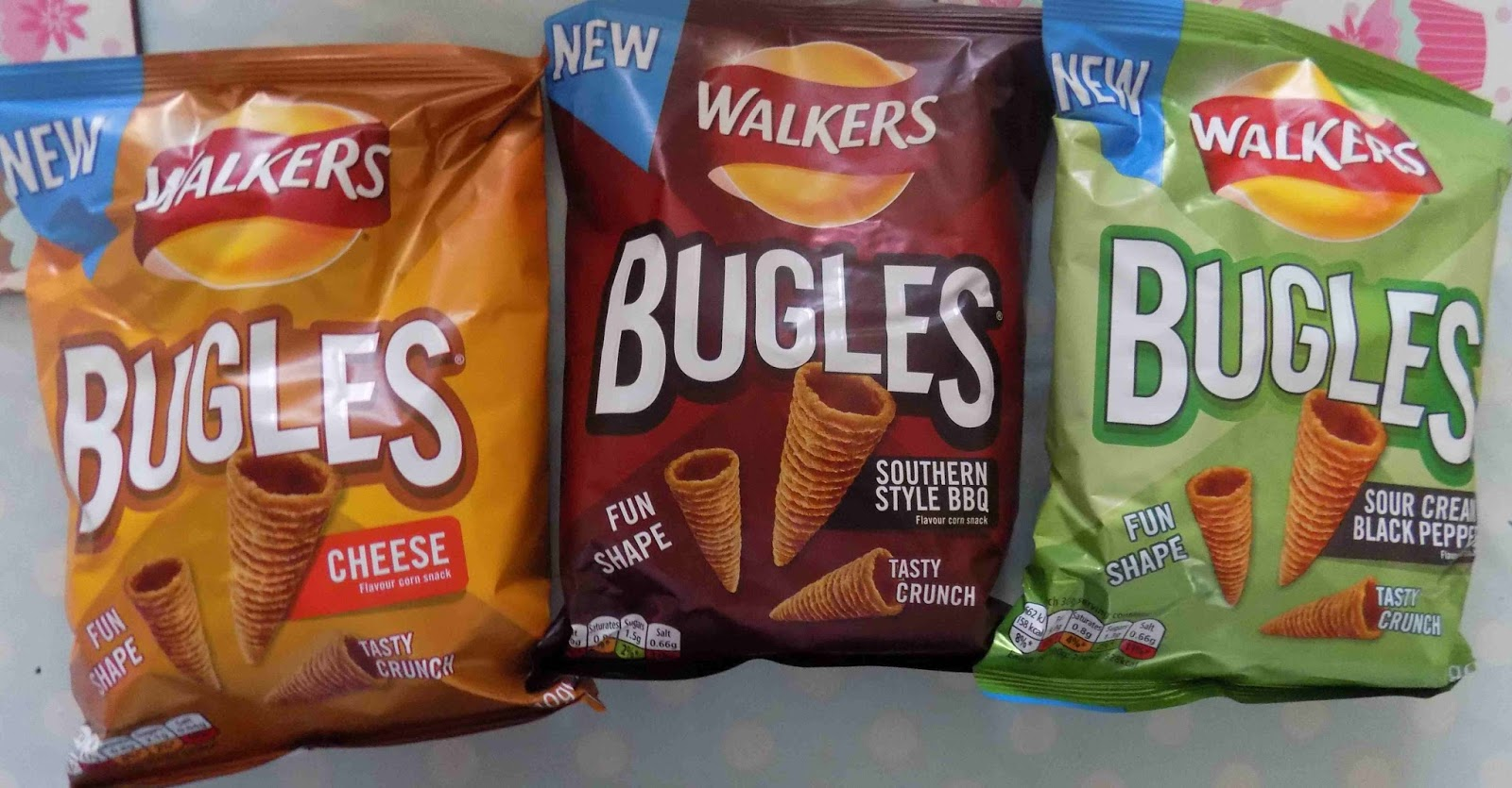 Back Over The Summer Where On Earth Is Time Going Bugles Sent Us Some Of Their Crunchy Cone Shaped Snacks Along With News A Fabulous Event To