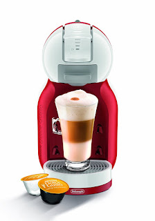 Coffee Capsule Machines Red White, NESCAFÉ Dolce Gusto Mini Me Automatic Play £34.99