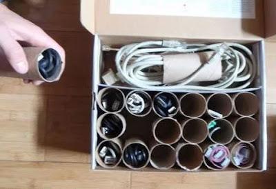 Seringkali barang barang bekas disekitar kita mempunyai kegunaan tersendiri 35 Kumpulan Tips Sederhana Kehidupan Sehari - Hari