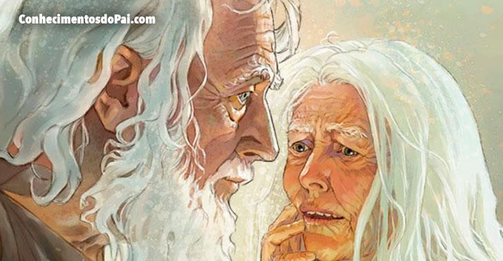 adao com 930 anos de idade e proximo da morte - Quem Foi Adão? Como Adão Viveu Aqui na Terra? Como Adão Morreu? - Histórias Bíblicas