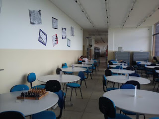 Biblioteca do campus da UFCG de Cuité cria a sua parede poética