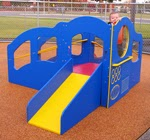 SKPG443B, Infant Toddler Dream Playground, Bright Colors