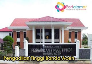 Alamat Pengadilan Tinggi Aceh