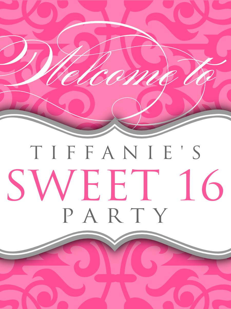 Sweet 16 Program Layout