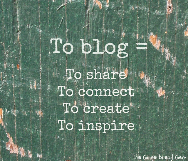 To Blog= To share  To connect To create To isnirre