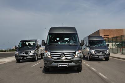 2eda2409cff A linha Sprinter de vans de passageiros é composta por quatro versões  9+1  (nove assentos para passageiros mais o banco do motorista)
