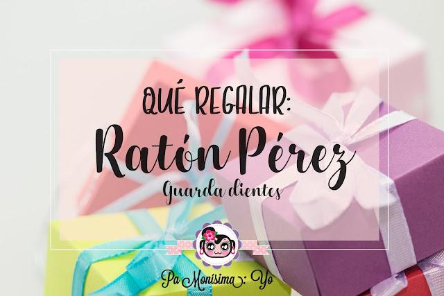 Ratón Pérez guarda dientes Monerías en fieltro pamonisimayo