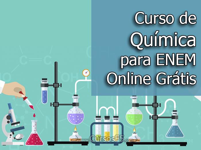 Curso de Química para ENEM Online Grátis