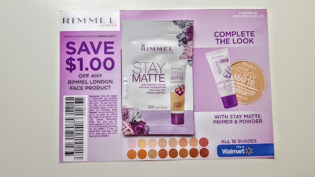 rimmel stay matte mouse foundation sample