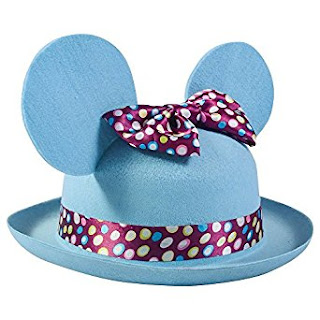 Mouse ears derby hat for kids