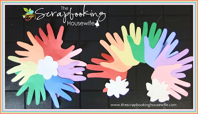 Rainbow Handprint Spring Crafts for Kids