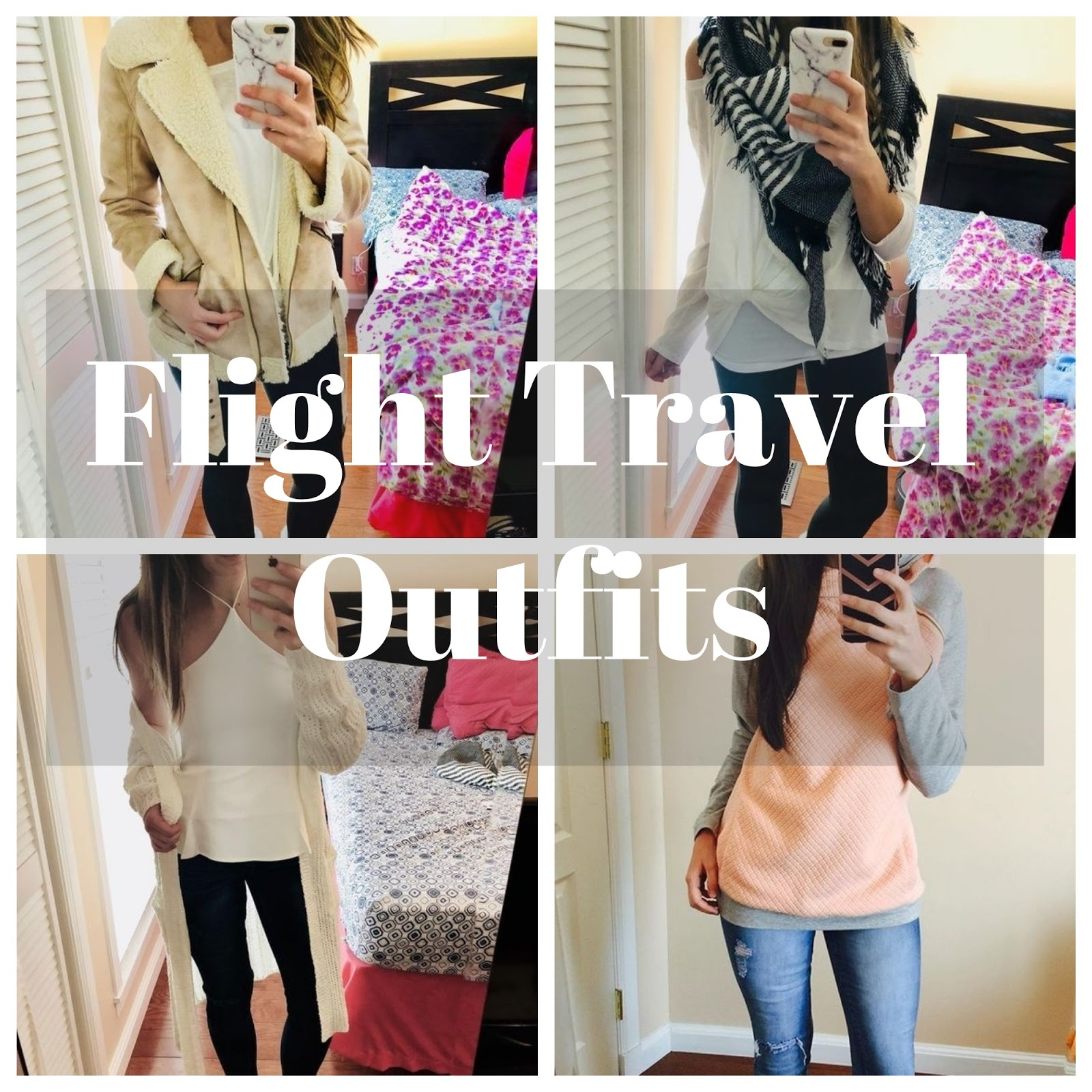 flight travel outfits, travel outfits, outfits to wear while traveling, travel, traveling, airplane outfits, pretty, flip flops, sweater and jackets on the plane, tops, dresses, what to wear on the plane,