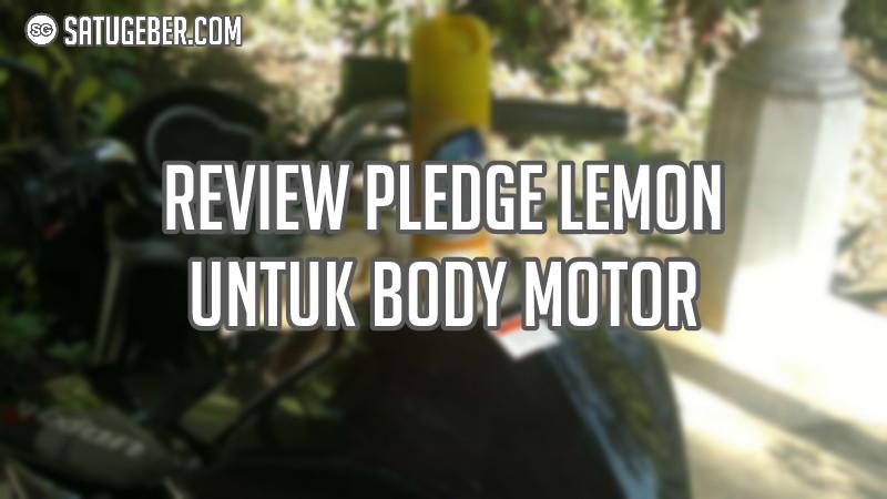 gambar cara yang makaian pledge untuk body motor